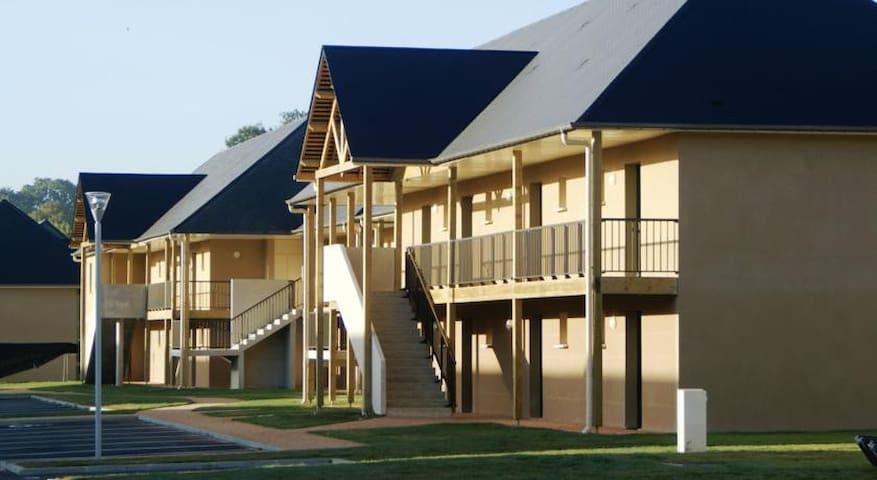 Appartement avec piscine Honfleur - Équemauville - Departamento