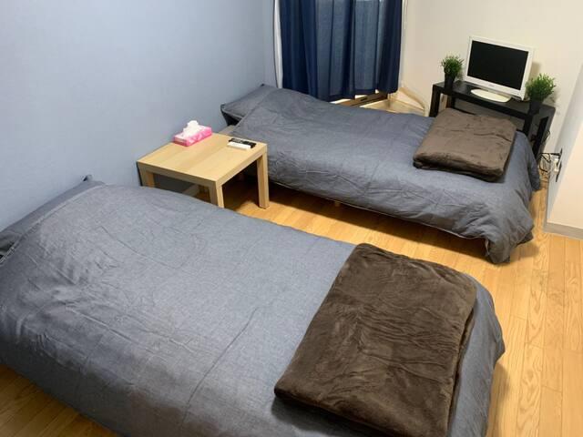 新宿御苑のマンションタイプで三密回避 家具家電付きのお部屋で自炊も可能 消毒殺菌清掃