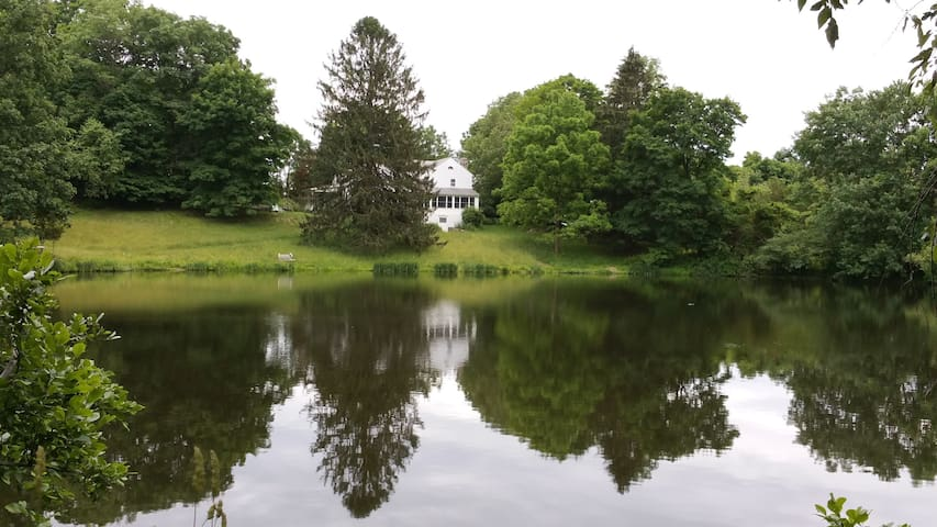 The North Wing on the Pond