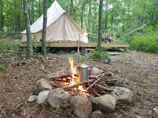 ☮ Scenic Hiking Paradise! Relaxing Glamping Tent!!