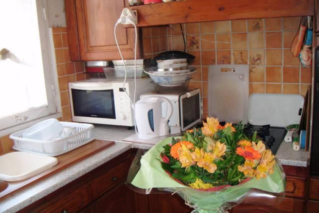 cuisine aménagée et équipée
