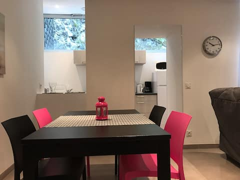 LUZ Appart nº2 neuf,50m2 ,4pers, wifi,terrasse ext
