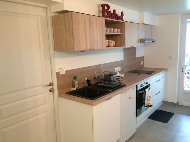 Great apartment, close to Geneva, in private house - Gaillard - Flat