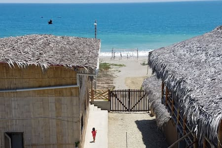 Cabañas frente al mar- Machalilla-Puerto Lopez1