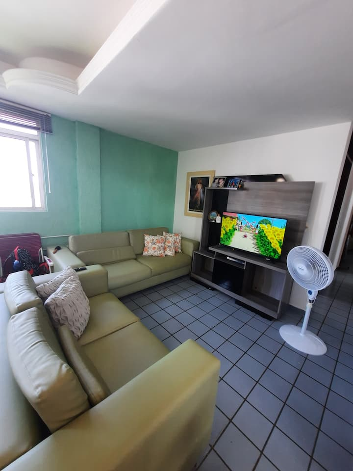 Apartamento 3 quartos Camboinha