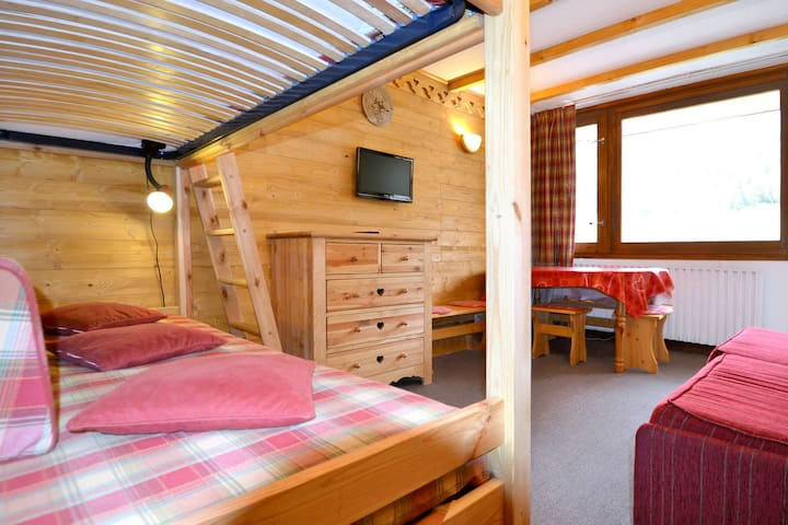 Holiday apartment in Aime - Plagne Centre for 3 persons