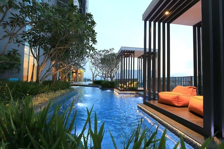 Cosy brand new 1BR Suites, 5mins to Mid Valley #3 - Kuala Lumpur - Ortak mülk