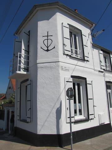 Le Crotoy maison de charme à 50m de la plage