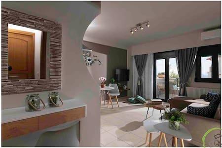 Luxury apartments in Hersonissos, Piskopiano #1