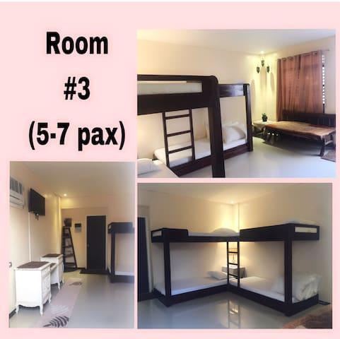 NNYL Baler Beach Front Room#3 good for 5-7 pax