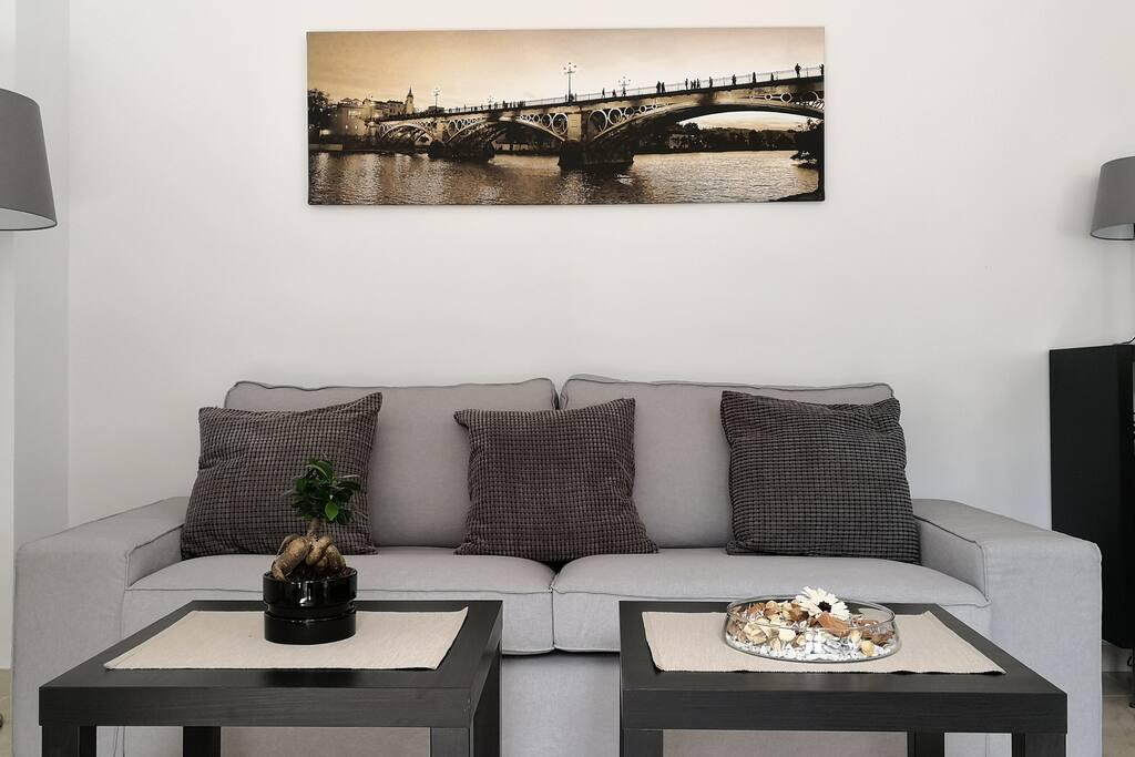 Salón/Sala de estar/Living room
