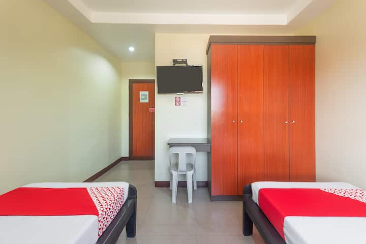 Deluxe Twin Stay@Blue Horizon Hostel