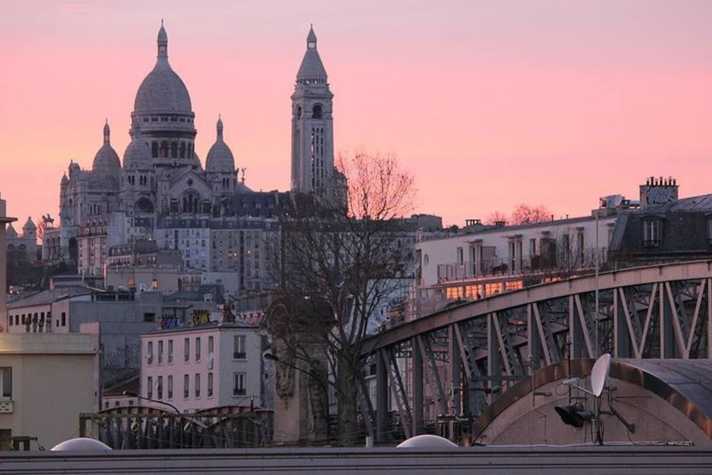 View of Montmartre from the window