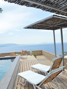 Elegant Design, Great Sea View, w rooftop Pool! - Schinias