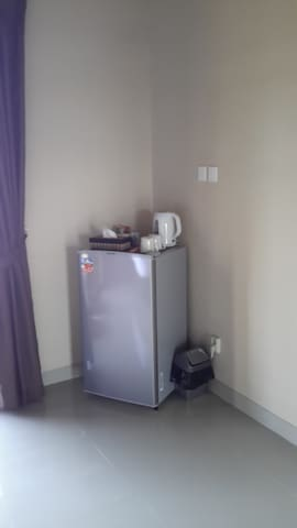 Fridge and Tea and Coffee making facilities