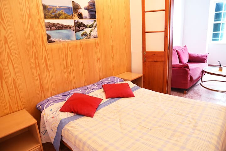 Double room with a private lounge - Sant Climent