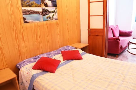 Double room with a private lounge - Sant Climent - Haus
