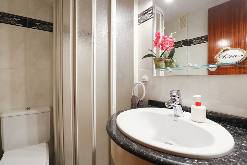Baño privado Private bathroom