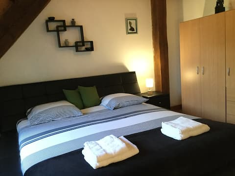 "Chambres familiales ""Ravel"" + jacuzzi/spa"