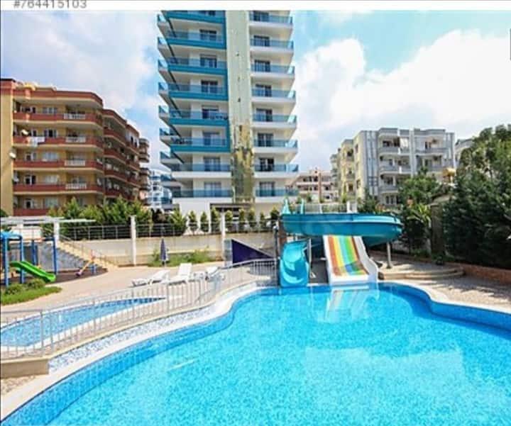 Однокомнатная квартира у моря Denize sıfır daire
