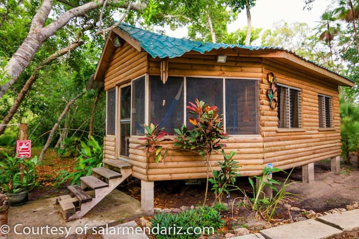 Eco Friendly Monkey Cabin