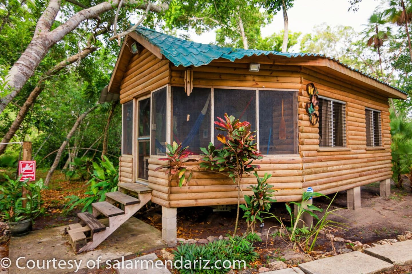 Welcome to the Log Cabin Eco Monkey Reserve .