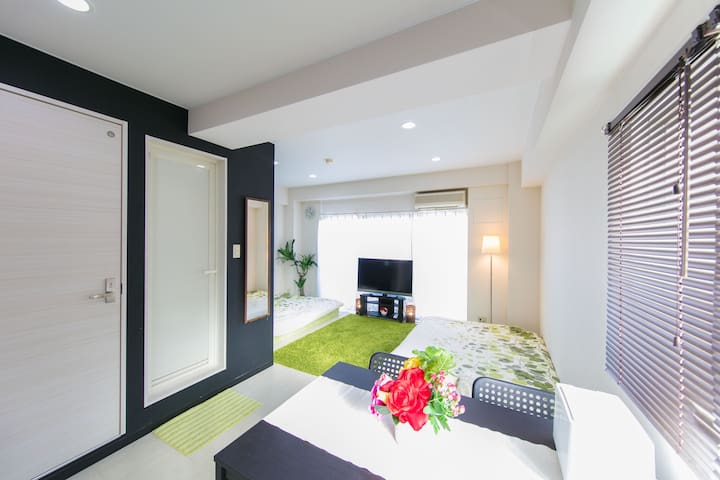 SS2/Kyobashi station closest/free wifi - 大阪市 - Apartment