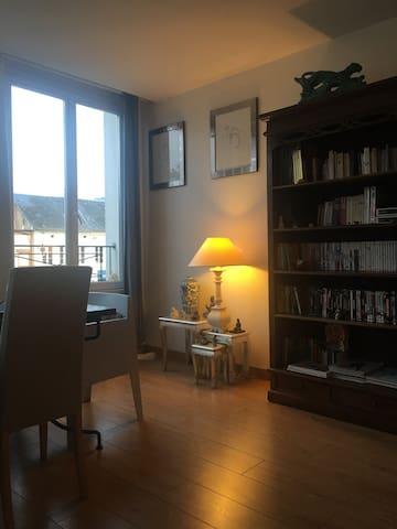 Maison avec jardin a 15 mn de Rouen - Montville - Haus