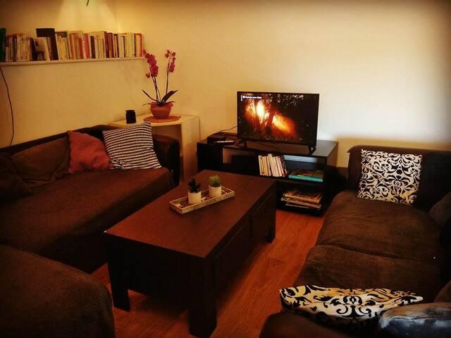 Petite chambre dans appartement cosy