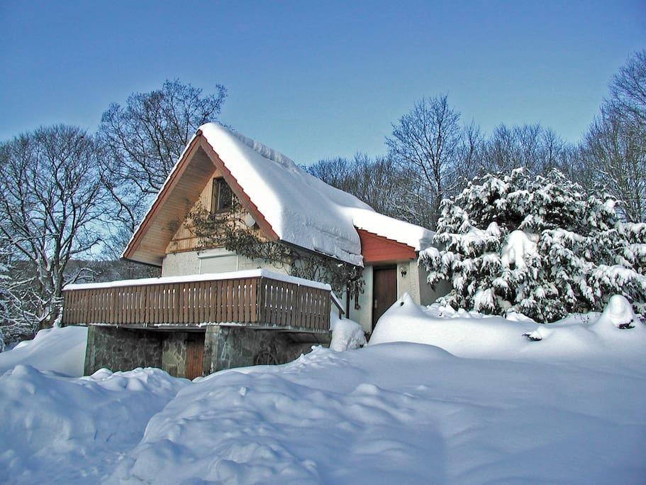 Ski fahren ist direkt ab der Haustür möglich!