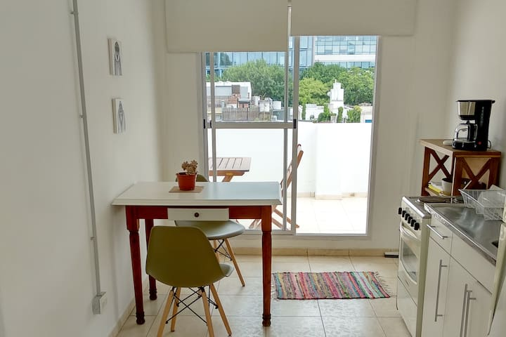 Departamento con terraza propia en Palermo
