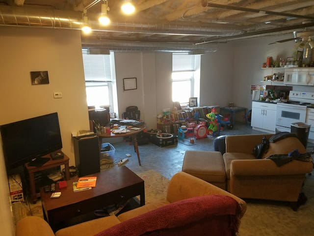 1 Bedroom apt in downtown Waukegan - Waukegan - Appartement