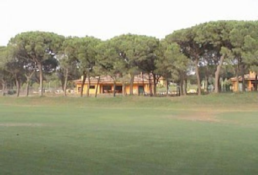 View of villa from the 14th fairway