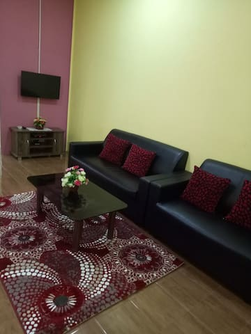 Living room with tv astro njoi