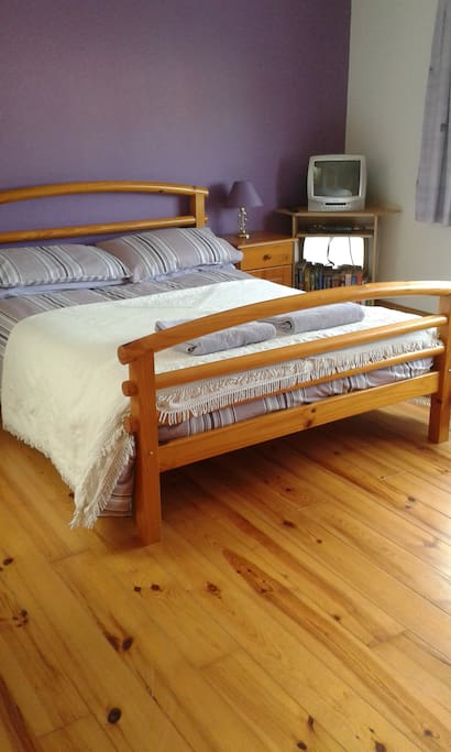 Here is your double bed