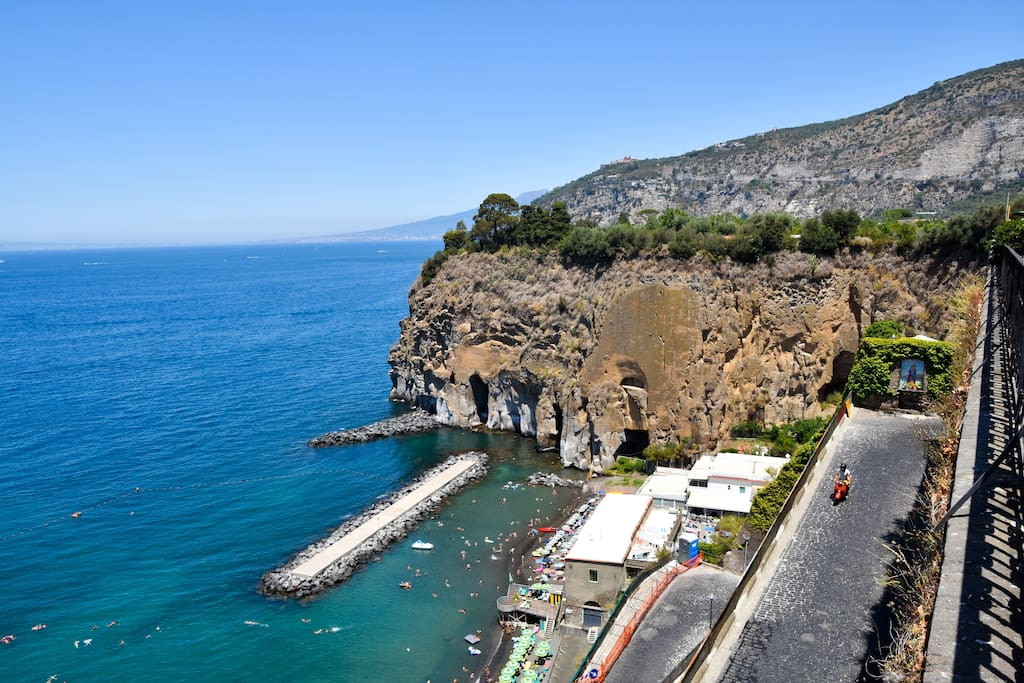 Beach of Piano di Sorrento