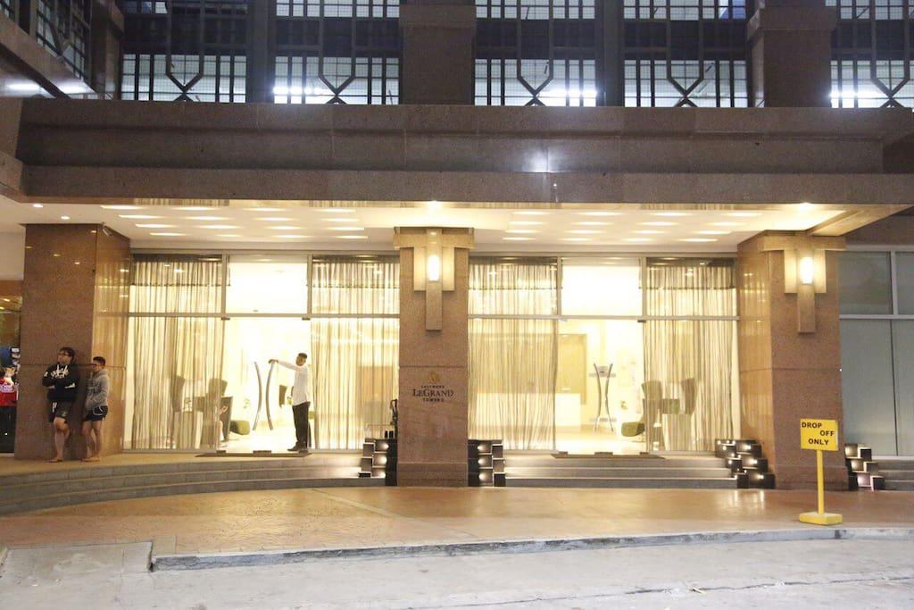 Entrance into the condo