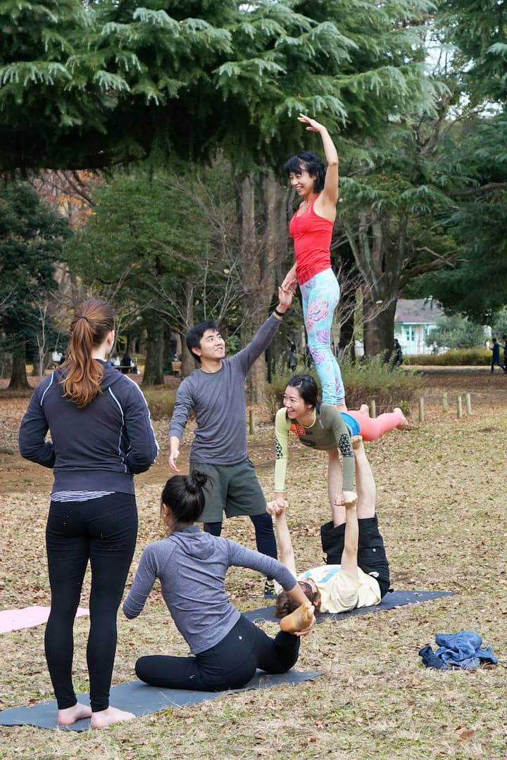 Acro isn't just a workout, it's fun!
