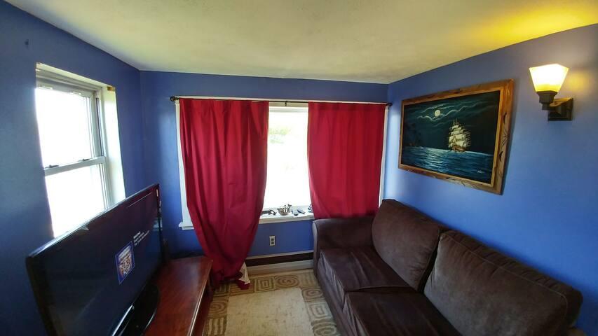 the cozy den!