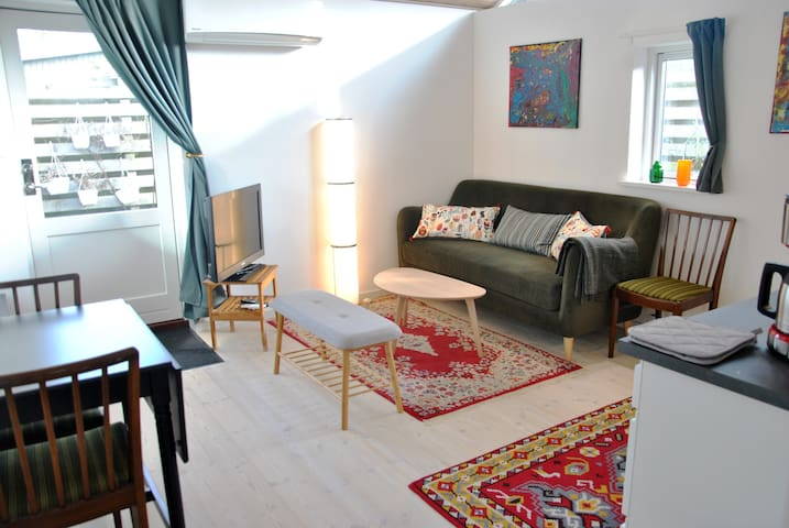 Luxury apartment in Copenhagen green area