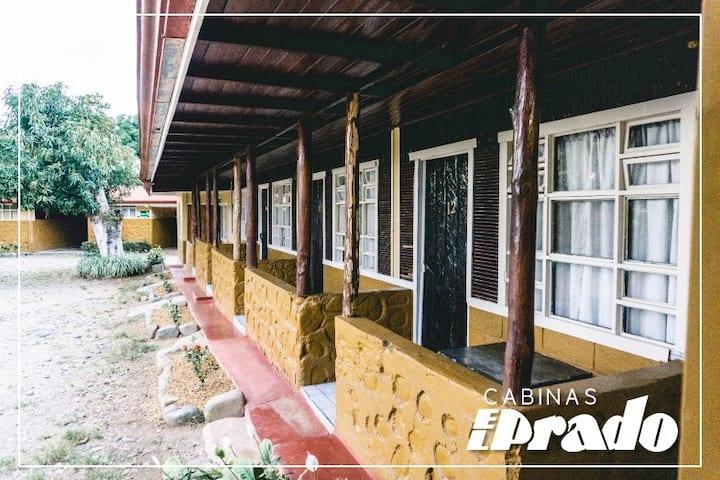 Habitación Doble Sencilla en Cabinas EL PRADO