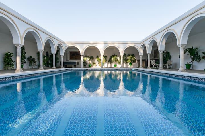 Villa del Manzano. A 15 minutos de Sevilla Centro