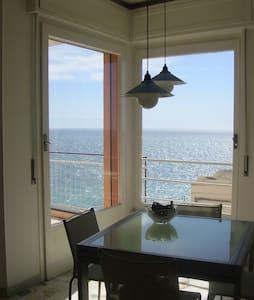 Accogliente monolocale con fantastica vista mare - Sanremo - Wohnung