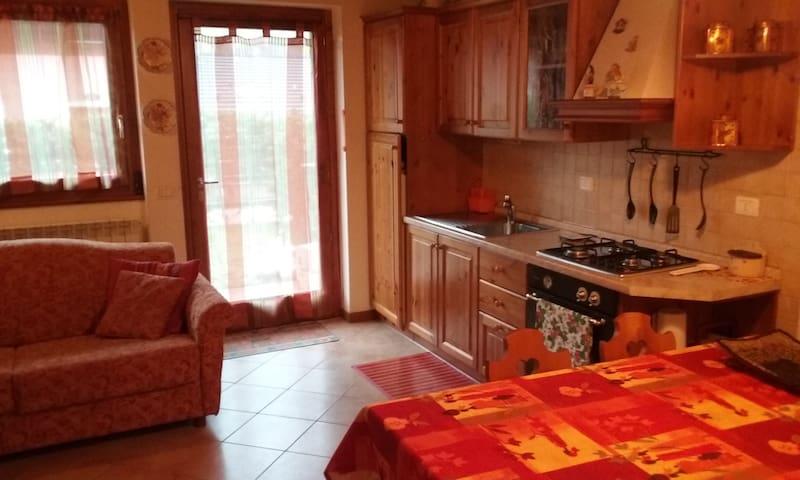 Accogliente Bilocale Pianterreno - Aprica - Apartmen