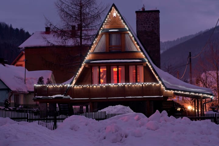 Your wooden House in Szczyrk - with fire place