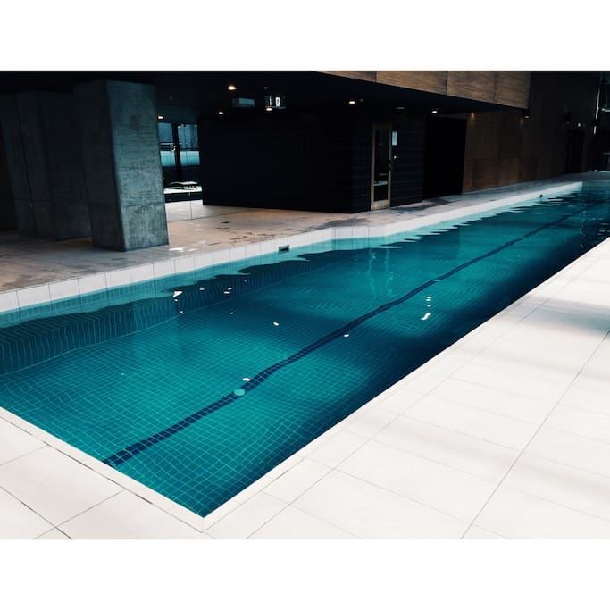 Level 2 - Pool, Sauna, Gym (Open for residents from 6AM - 11PM)