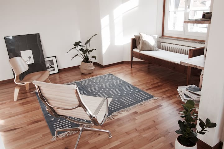 Beautiful Minimal Apartment In Zurich - Zürich - Apartment