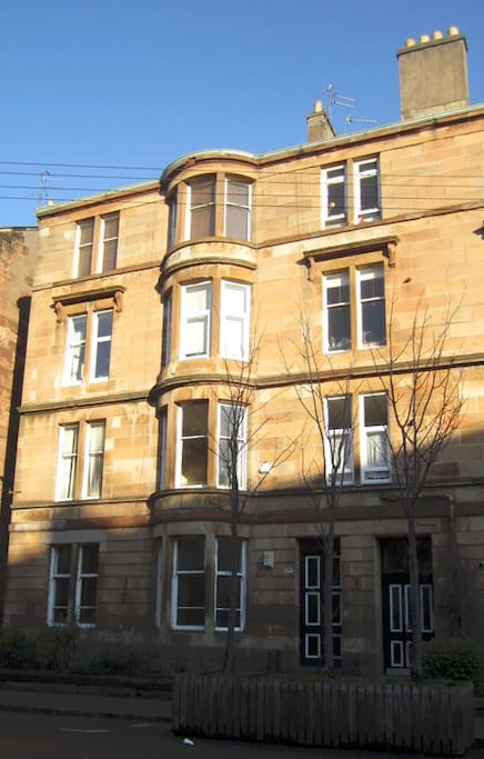 Top floor flat in Victorian Tenement