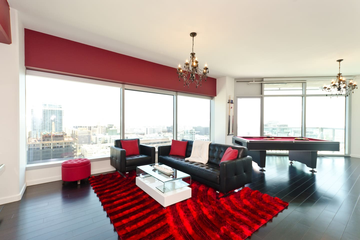 downtown la presidential penthouse with pool table apartments for
