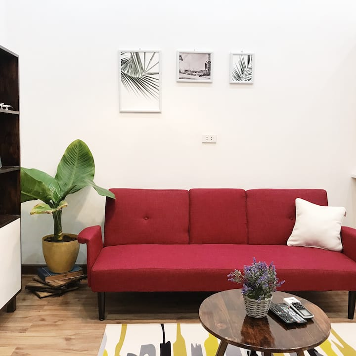 Urban private studio near BẢO SƠN Hotel